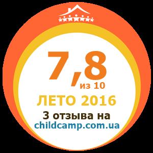 Оценка лагеря за Лето 2016 по отзывам родителей на childcamp.com.ua - портал детских лагерей